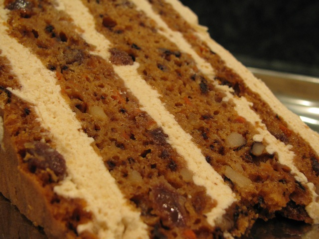 carrot cake from M Cafe de Chaya